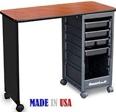 C119 ECONO Manicure Nail Table Cherry Top by Dina Meri Review