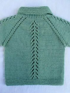 "Çeket ""Discover thousands of images about valdomira pereira"" Baby Boy Cardigan, Knit Baby Dress, Knitted Baby Cardigan, Knit Baby Sweaters, Red Cardigan, Baby Boy Knitting, Knitting For Kids, Baby Knitting Patterns, Baby Patterns"