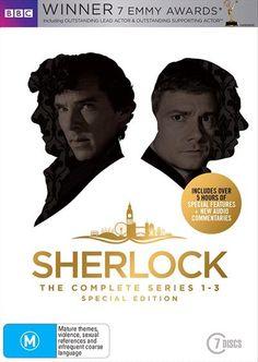 Sherlock - Series 1-3 - Limited Edition ABC/BBC, DVD | Sanity