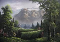 Paint with Kevin Hill - Little Canyon View (+playlist)