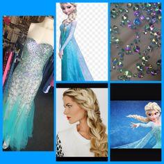 Elsa inspired Prom D