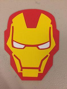 Iron Man Invitations/Iron Man Punch Art Invitations