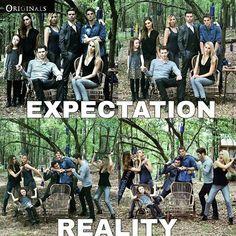 Expectation × reality