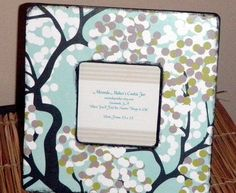 Boutique Picture FrAmE by mirandapmaher on Etsy, $12.00