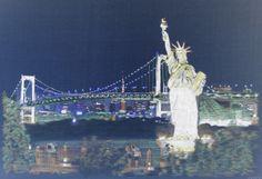New York, digitally inverted