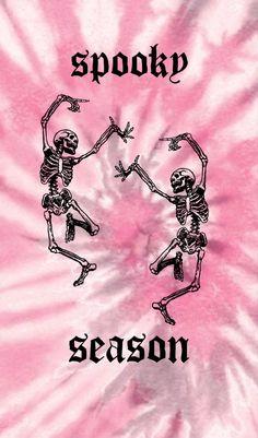 Pink Halloween Lockscreen/Wallpaper