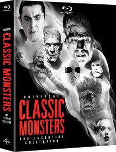 Universal Classic Monsters -   The Essential Collection debuts on October 2, 2012