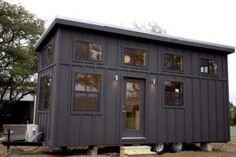 Black Pearl Tiny House by Nomad Tiny Homes 001
