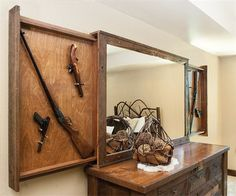 MH Custom Woodworks Inc - Furniture/Gun Concealment - Seligman, MO Decor, Storage Furniture, Furniture, Storage Design, Concealment Furniture, Diy Storage Design, Home Decor, Storage