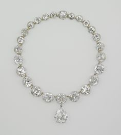 The Coronation Necklace - worn by every British Queen since Queen Victoria.
