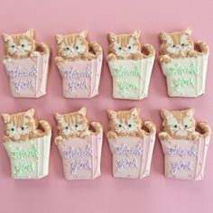 kitty sugar cookies