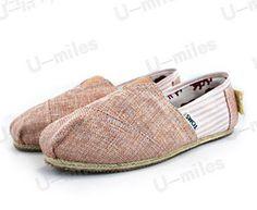 Brown Mens Classics University Rope Sole TOMS Shoes Sale 2011