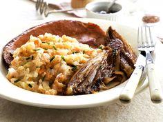 Wortelstoemp met witloof en spek - Libelle Lekker! Belgium Food, Pasta, Risotto, Mashed Potatoes, Ethnic Recipes, Cooking Together, Other Recipes, Dishes, Salads