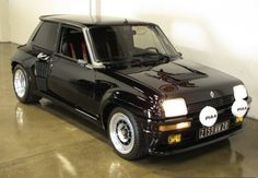 byarthuralford in dream cars : Renault 5 Turbo II. I so wanted one of these when it came out! Renault 5 Gt Turbo, Renault Sport, Retro Cars, Vintage Cars, Top Cars, Small Cars, Rally Car, Amazing Cars, Awesome