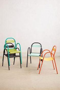 Minimalist Stacking Chair {Anthropologie}