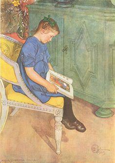 Carl Larsson - Anna - Johanna Grill