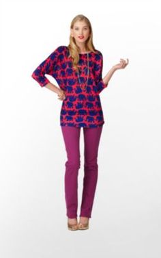 This is basically the epitome of me in sweater form.     Camille Sweater by #lillypulitzer