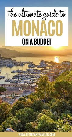 The Ultimate Guide to Monaco on a Budget. Planning a trip to Monaco? Looking for advice on where to stay, where to eat and what to do? Here is an insider guide on what you can and should be doing in Monaco all on a budget. | monaco on a budget | budget travel destinations | budget travel europe | budget travel destinations europe | cheap europe destinations budget travel | travel on a budget destinations europe | monaco budget travel | monaco cheap | monaco budget | monaco travel