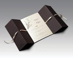 Convite de casamento amarradinhos
