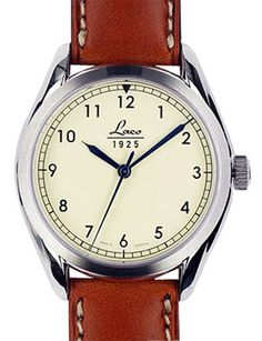 Laco Navy 36 Cream Dial Automatic Watch