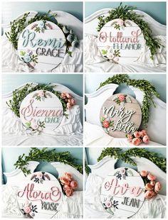 Nursery Name, Nursery Signs, Girl Nursery, Nursery Room, Wood Name Sign, Wood Names, Cute Baby Names, Baby Girl Names, Baby Name Signs