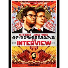 The Interview on DVD February 2015 starring Seth Rogen, James Franco, Lizzy Caplan, Randall Park. In the action-comedy The Interview, Dave Skylark (James Franco) and his producer Aaron Rapoport (Seth Rogen) run the popular celebrity tablo Streaming Movies, Hd Movies, Movies To Watch, Movies Online, Movie Tv, Funny Movies, Streaming Vf, 2015 Movies, Movies Free