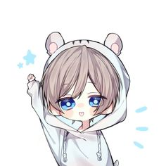 Cute chibi avatar: chibi, anime and kawaii. Chibi Boy, Cute Anime Chibi, Kawaii Chibi, Kawaii Anime Girl, Kawaii Art, Manga Anime, Comic Anime, Anime Boys, Anime Art