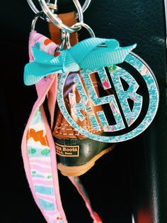 The perfect preppy keychain