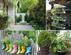 Ter um espaço como quintal ou jardim em casa, é um privilégio e por que não usar desse privilégio para deixar sua casa ainda mais linda, de um jeito sustentável?