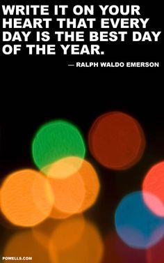 Ralph Waldo Emerson. #litspo