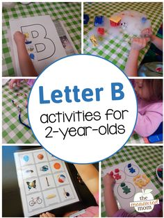 If you're teaching letter B, you'll love this fun collection of hands-on letter B activities and free printables.