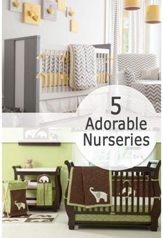 5 Adorable Nurseries | Blog | Home and Garden Design Ideas