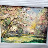 Painter,Catteau ,Nice 1950.Signe CH.Catteau.