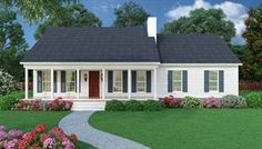 Plan 5458 House Plans One Story, Best House Plans, Small House Plans, House Floor Plans, Simple Ranch House Plans, Low Cost House Plans, Simple Floor Plans, Simple House, Ranch Style Homes