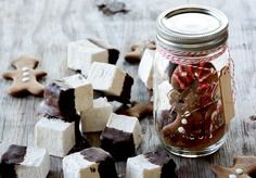 Chocolate-Dipped Gingerbread Spiced Marshmallows
