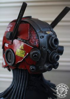 The Nexialist MkII helmet back (98% done) by TwoHornsUnited on DeviantArt
