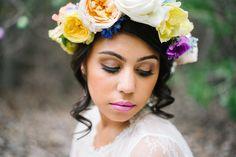 flower crown for Boho Easter styled shoot.  Design/Styling: @Lisa Petersen @Jenna Bechtholt Photography: @Jenna Bechtholt Florals: Emblem Flowers @Charmain Chen Makeup/Hair: www.chelseanicolemakeup.com