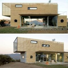 THE INFINISKI MANIFESTO SHIPPING CONTAINER HOUSE