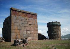 Chullpas at Cutimbo, Puno, Peru