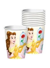 Beauty and the Beast Cups 8ct