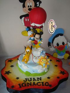 Cake Babies Mickey Mouse, Donald and Pluto