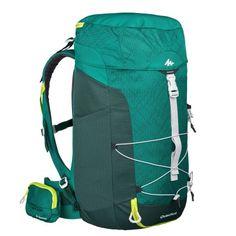 ac1a9cd2e66a8 Sac a dos de randonnée montagne mh100 40 litres vert quechua
