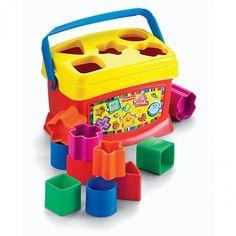 Primeiros Blocos Baby Brilliant Basics Fisher-Price - Brinquedos - Bebês e Infantil