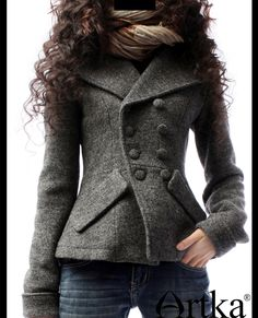 Artka Women'S Fashion Turn Down Collar Thickening Wool Socialite Double Breasted Slim Waist Woolen Outerwear A09792-inWool & Blends from Apparel & Accessories on Aliexpress.com | Alibaba Group