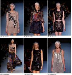 Erin Loh's work at Rosemount Australian Fashion Week