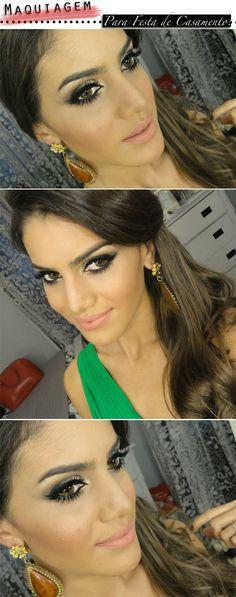 Camila Coelho - Make Festa de casamento Absolutely beautiful makeup
