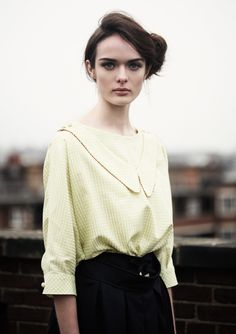 AW09 | Colenimo - I love this pale yellow blouse