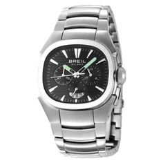 Breil Milano Unisex BW0301 Eros Analog Black Dial Watch Breil. $187.48. Miyota OS20 Japanese Quartz chronograph movement. 3-hand chronograph movement with luminous hands and date window. High grade stainless steel case, screw-down case back and bracelet. Water-resistant to 660 feet (200 M). Limited lifetime warranty