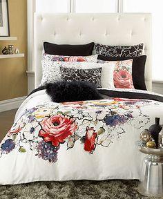 INC International Concepts Bloom Full/Queen Duvet Cover - Bedding Collections - Bed & Bath - Macy's