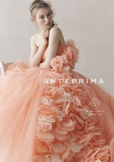 ANTEPRIMA wedding アンテプリマウェディング Colored Wedding Dresses, Bridal Dresses, Wedding Gowns, Girls Dresses, Prom Dresses, Beautiful Costumes, Beautiful Gowns, Fairytale Dress, Glamour